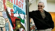 Comic book creator Stan Lee