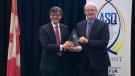 Pearson Airport service award