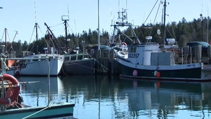 Tuesday's storm has delayed the start of the Bay of Fundy lobster season. It was supposed to start Tuesday, but now might not start until Thursday.