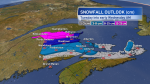 Some areas of New Brunswick could get between 15 and 25 centimetres of snow.