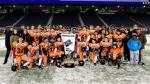 The St. John's Tigers won Winnipeg High School Football League Division 3 finals, ending a 38-year championship drought. Glenn Dickson / THE CANADIAN PRESS
