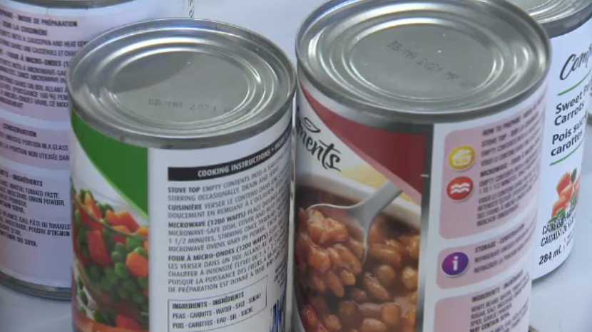New Brunswick's 60 food banks are relying heavily on donations, with minimal staff to meet the increasing needs.
