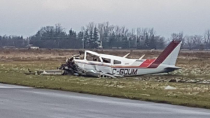A plane crash in Brant County has claimed the lives of two people. (Photo: OPP)