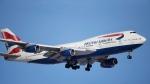 In this Feb. 8, 2016 file photo, a British Airways plane lands on a runway at Denver International Airport. (AP Photo/David Zalubowski, File)
