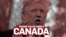 Trump talks about Canada