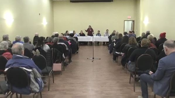 Ontario Health Coalition's public forum in Sudbury focuses on the dire situation cuts have put the province's hospitals in. Callam Rodya reports.