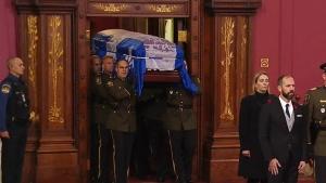Funeral for former Que. premier Bernard Landry