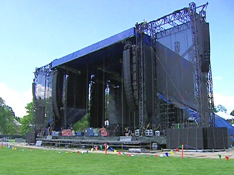 Concert staff have spent the past two weeks turning the Halifax Common into a venue that could accomodate a Paul McCartney concert.