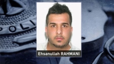 Ehsanullah Rahmani, wanted on arrest warrants for drug trafficking, has been located (CPS)
