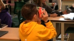 A grade 6 class demonstrates the future of learnin