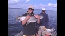 "Frank Papineau from his ""Weekend Fisherman"" series"