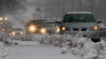 Winter storm hits N.B.