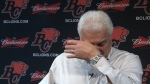 Extended: Wally Buono's emotional news conference