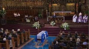 Former Quebec premier Bernard Landry's funeral