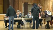 Calgary - Olympic plebiscite voting station