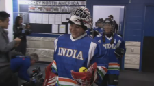 Warm welcome for Indian women's hockey team