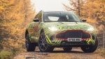 Aston Martin's first SUV has had its DBX name confirmed and will undergo extensive testing. Courtesy of Aston Martin.