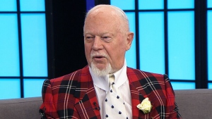 Don Cherry appears on CTV's Your Morning on Nov. 14, 2018.