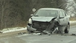 Head-on collision closes portion of Highway 7