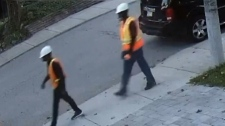 Two suspects wanted in connection with an investigation into a brutal home invasion in North Toronto. (Toronto police handout)