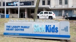 The Hospital for Sick Children in Toronto is shown on Thursday, April 5, 2018. (The Canadian Press / Doug Ives)