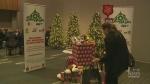 Salvation army kicks off Christmas campaigns