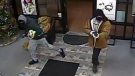 Windsor police are looking for two suspects after a jewelry store robbery on Walker Road. (Courtesy Windsor police)