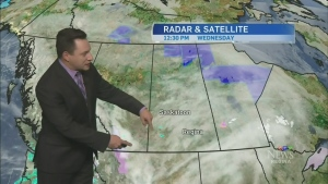 Freezing rain could come our way this evening