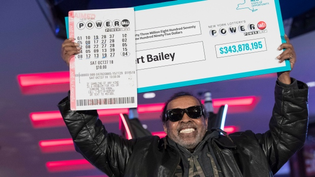 Powerball jackpot victor, Robert Bailey, claims $350 Million