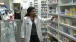 """This year's flu vaccine is very effective and they've been getting it"" says Rexall pharmacist Mital Desai"
