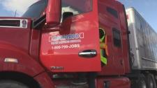 Transport truck drivers in high demand