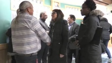 Federal senior's minister, Filomena Tassi, stops in Sudbury on a cross country consultation tour looking at enhancing services. Alana Everson reports.
