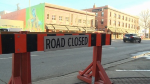 Sections of Jasper Avenue, 97 Street NW and Stadium Road will be closed while Edmonton hosts the Grey Cup.