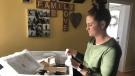 Morgan Gabel looks at preparations for her upcoming destination wedding (Taylor Rattray / CTV Regina)