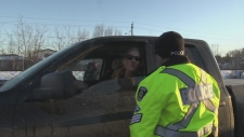 As the holiday season approaches, police officers in northern Ontario are on the lookout for impaired drivers. Molly Frommer reports.