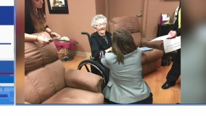 North Bay is home to Canada's oldest person, Ellen Dolly Gibb, who was born in 1905.