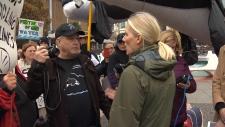 catherine mckenna pipeline protest