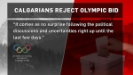 Olympic plebiscite results - IOC response