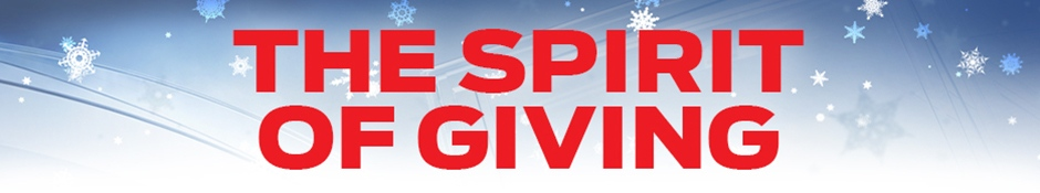 Spirit of giving header