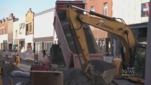 Montreal to reduce amount of roadwork