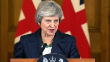 British PM May on Brexit deal