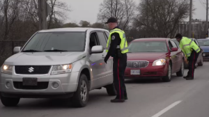 Guelph Police and Ontario Provincial Police launch festive RIDE program for holiday season.