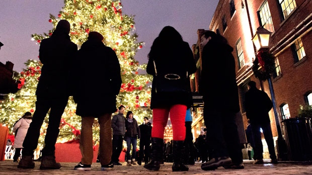 File photo of the Christmas Market in Toronto. THE CANADIAN PRESS/Frank Gunn