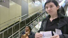 Bela Kosoian was handcuffed inside a Laval subway station for not hanging on to a handrail escalator