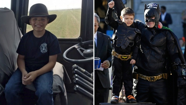 'Batkid' who saved San Francisco and won hearts is now cancer-free