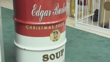 Sudbury's annual Edgar Burton Christmas Food Drive and Kids Helping Kids campaign kicks off with a special anniversary. Lyndsay Aelick reports.