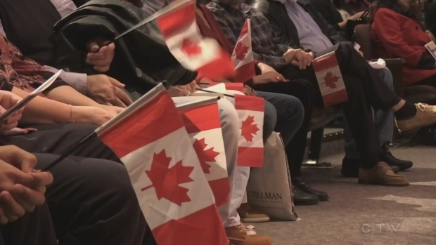 Becoming a citizen of Canada
