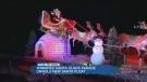 Santa gets a brand new ride for parade