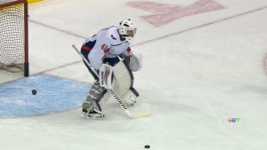 Hockey coach suits up for NHL game