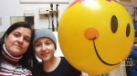 Positive experience inspires teen cancer patient
